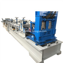 Hydraulic motor drive CZ purlin machine