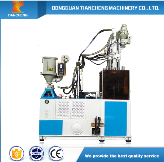 Single Sliding Board Vertical Injection Machine