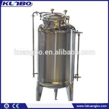 Réservoir de stockage d'eau d'acier inoxydable de catégorie comestible