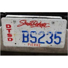 Decorative Car Plates, Custom Embossed License Plates, License Plates