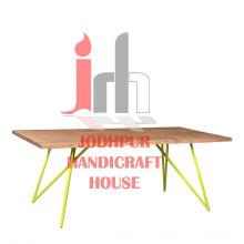 Iron Wood Coffee Table