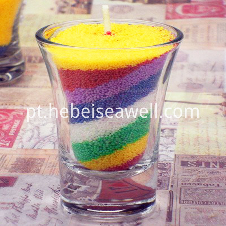 Wax Sand Candle 1