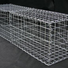 Galvanized Welded 2 * 1 * 1M Gabion Wire Mesh Box