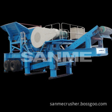 PP-J Series Construction Waste Stone Roller Crusher Machine