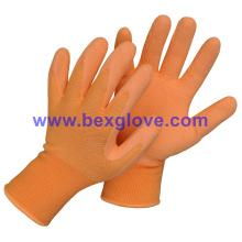Цветные женские перчатки