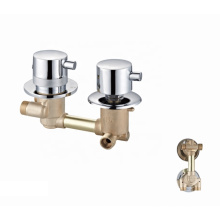 Factory shower panel two function 2 hole brass thermostatic faucet