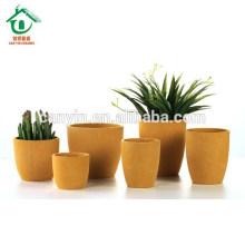 Kleine runde Garten Keramik Blumentöpfe Dekoration