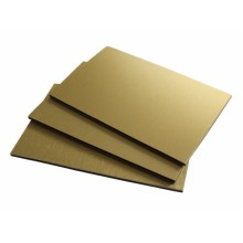 Brushed Golden ACM Sheet