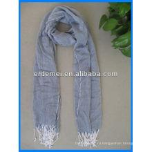 Пряжа окрашена мужские многоразовые шарфы вискоза