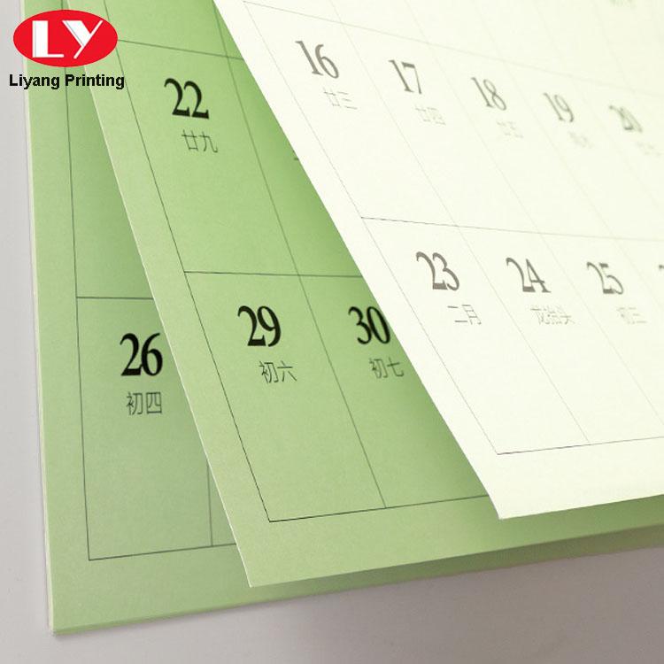 Wall Calendar Paper