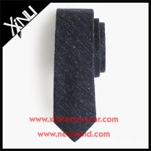 Englisch Seide Wolle Tweed Krawatten in Volltonfarbe Phantasie Wolle Krawatte
