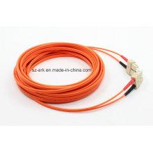 20m Sc-Sc Om1 / 62.5 / 125 Fibre optique à la vente