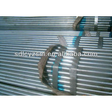 superfície galvanizada da estufa do tubo de aço