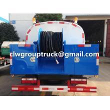 DFAC Duolika 6CBM Camión de succión de aguas residuales de limpieza
