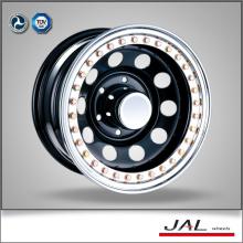 Black Terminate Trailer Wheel Steel Car Wheels Rim of 10 Spokes