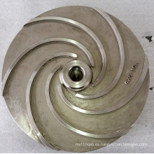 Impulsor de acero fundido de la bomba de agua de fundición de cera perdida