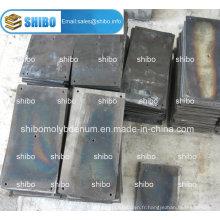 Plaques de molybdène noir pur à 99,95%