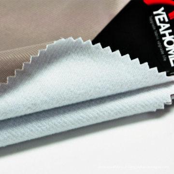 Tissu contrecollé en tricot extensible des deux côtés épais pour housse de voiture