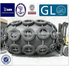 Aircraft tyre net yokohama floating rubber fender type