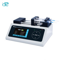 Pompe à seringue de laboratoire électrofilage haute tension