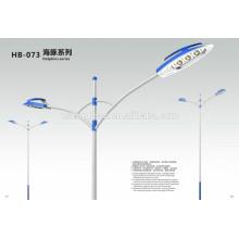 IP65 Solar-Outdoor-LED-Beleuchtung LED-Straßenleuchten 90W 100W 120W BridgeLux Chips Straße Solar LED-Straßenleuchte