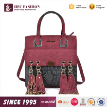 HEC Online Shopping Daily Wear Mochila de diseñador de moda hecha en China