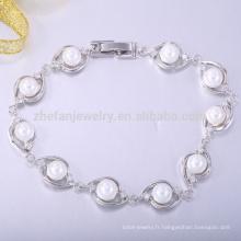 Bijoux en pierre naturelle laiton amour bracelet perle bracelets
