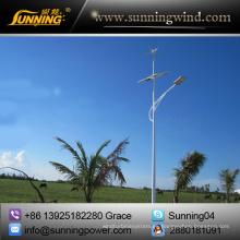 Sistema híbrido eólico solar para sistema de iluminación de 50W