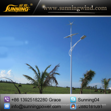 Wind Solar Hybrid System for 50W Lighting System