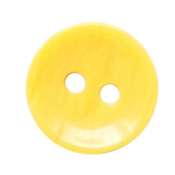 Botón de resina con 2-Hold, conveniente para los abrigos de High Grade Trousers