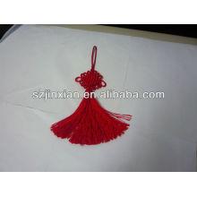 Borla de decoração com nó chinês