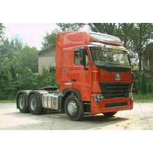 HOWO 6X4 automatic transmission tractor trailer for sale