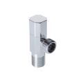 Brass Body Chrome 90 Degree Chinese Bathroom  Function Faucet Accessories Angle Valve