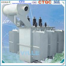 Transformador de distribuição de energia imerso a óleo de 20 kv