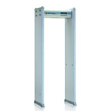 50 Working Frequency 18 Zones Anti Interference Walkthrough Metal Detectors