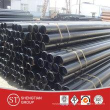 X52 API 5L Sch40 Gr. B Бесшовная труба из углеродистой стали