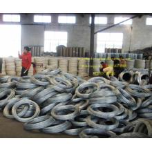 El alambre de hierro galvanizado más barato, alambre obligatorio de la fábrica de China