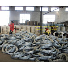 Fil de fer galvanisé le moins cher, fil de liaison de l'usine chinoise