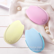 Rechargeable Hand Warmer Power Bank 2-in-1 5200mAh Battery Charger Electric Bud Shape Handwarmer fast charger