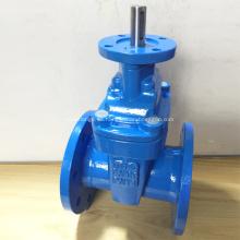 Válvula de compuerta de asiento resistente con eje desnudo de brida ISO5210