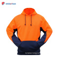 Hot Sale Mens EN471 Class 3 Jumper Wind Resistant & Warm Hoodie Safety Jacket Coat Outdoor
