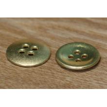 4-holes gold buttons high class round girl/men shirts button