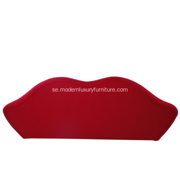 Modern Bocca Lip Fabric Sofa