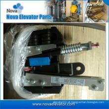 Equipamento de segurança de elevador de 10 mm instalado no chassi do carro