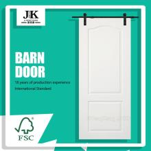 JHK-S02 Wooden Shaker Old Barn Door White Barn Door