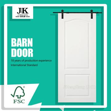 JHK-S02 Interior Barn Door Solid Barn Door  Finished Interior Barn Door
