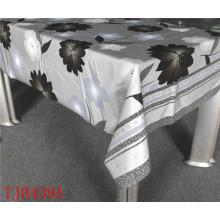 Neue Entwurfs-PVC-Druckmuster-Tischdecke mit Gewebe-Unterstützung LFGB