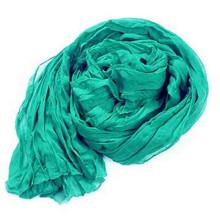 180 * 90 cm grande de algodón sólido lino gasa doblez bufanda chal abrigo para mujer