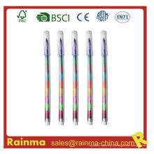 Muilt-Color Crayon Pen para regalo promocional