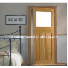 Nueva puerta de madera moderna de la chapa de la coctelera del diseño en América